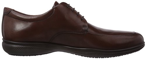 Ecco Grenoble, Derbies à lacets homme Marron - Braun (DarkClaySuede01014)