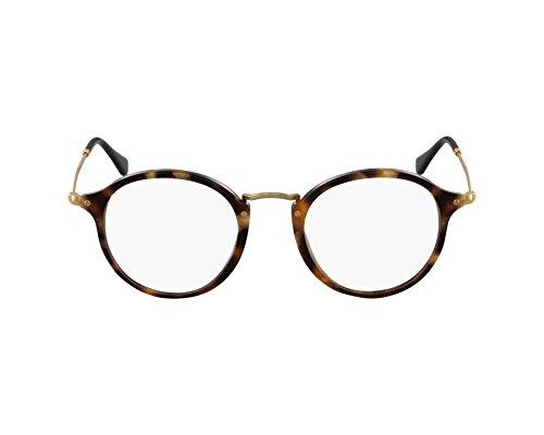 Preisvergleich Produktbild Ray-Ban Herren Brillengestelle 2447V, Schwarz (Negro), 49