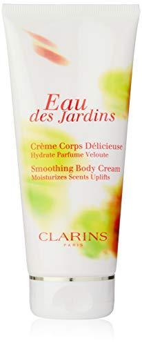 Clarins Eau Des Jardins femme/women, Smoothing Body Cream, 1er Pack (1 x 200 g) - Long Lasting Moisturising Cream