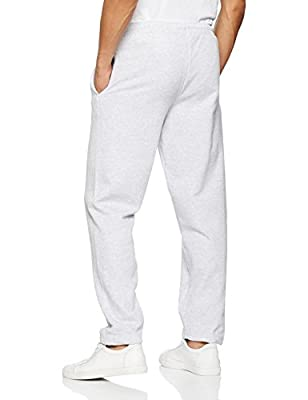 Fruit of the Loom Men's Open Hem Jog Relaxed Sports Trousers