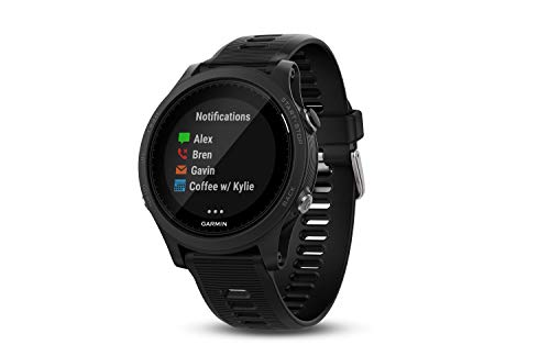 Garmin Forerunner 935 - Reloj GPS, Color Negro y Negro, Talla única