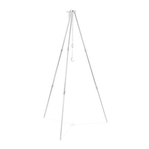 treppiede-fornello-solo-treppiede-compatto-leggero-in-alluminio-con-catena-regolabile-da-usare-con-i