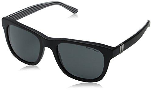 Polo Ralph Lauren Herren Sonnenbrille Ph4090 Schwarz (Matte Black 546187)