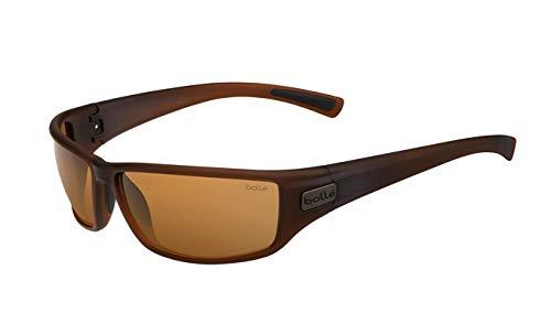 bollé Python Sonnenbrillen Matte Transparent Brown Medium Unisex- Erwachsene