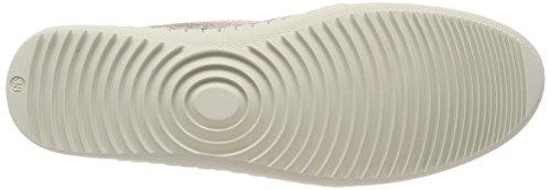 Tamaris Damen 23640 Sneaker Weiß (Champagne)