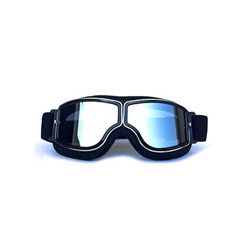 Preisvergleich Produktbild MaxAst Sonnenbrille Motorradbrille Nacht Nachtsichtbrille zum Autofahren Schwarz Silber
