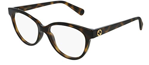 Gucci Brillen GG0373O DARK HAVANA Damenbrillen