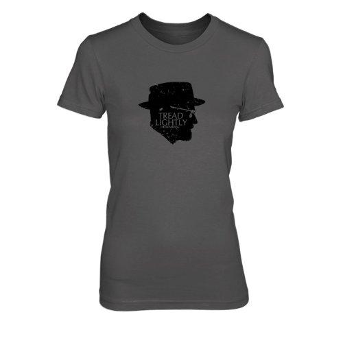 Tread Lightly - Damen T-Shirt Grau
