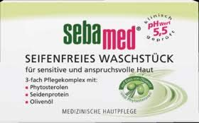 Sebamed Seifenfreies Waschstück Olive, 6er Pack (6 x 150 g)