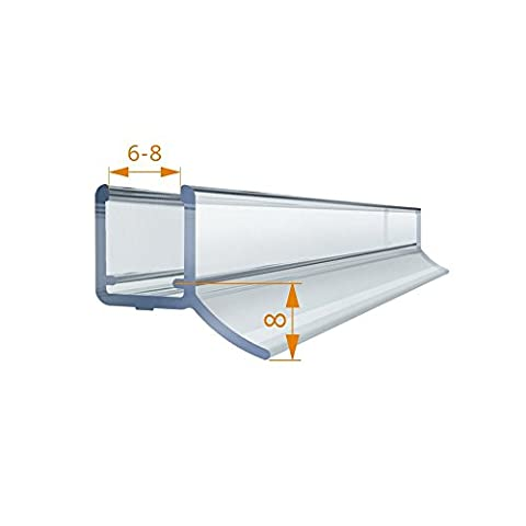 Shower Meister Replacement Shower Door Seal 2m 200cm Water Bumpers
