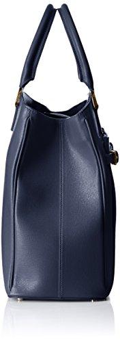 76b32153 cm Damen Blu Trussardi Denim Bag 35x29x14 Tru Tote Blue E6YSxqnw