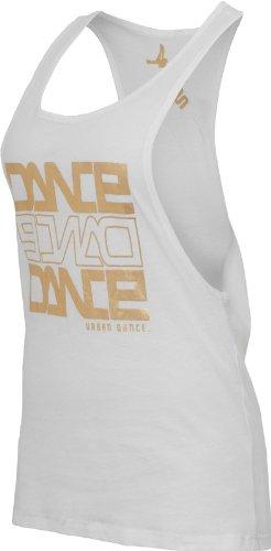 Urban Classics Dance Tanktop White/Gold