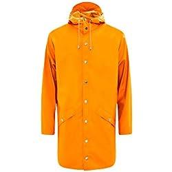 Rains Chaqueta Impermeable Color Fire Orange Unisex