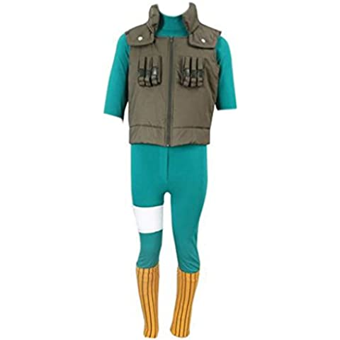 Dream2Reality Anime giapponesi Naruto Costumi Cosplay -Rock Lee 2nd Ver