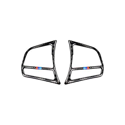 ad Taste Aufkleber Kohlefaser Abdeckung Zierrahmen Dekoration für BMW F30 F31 F32 F33 F34 (2012-2020) ()