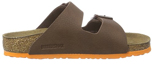Birkenstock Kids Arizona, Sabots mixte enfant Marron - Braun (Desert Soil Brown)