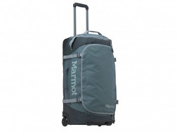 Marmot Rolling Hauler Carry-On Duffle Bag - Dark Mineral/Dark Zinc, 27 x 12 x 14-Inch/Medium