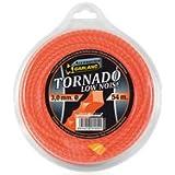 """Garland 71023X5430 - Dispensador nylon """"tornado"""" en espiral 54 M./3,0 mm. Ø   para Desbrozadora"""
