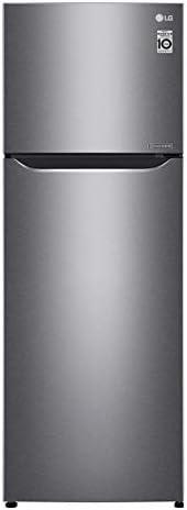 LG 333 Liters Top Mount Refrigerator, Dark Graphite Silver - GN-B402SQCB, 1 Year Warranty