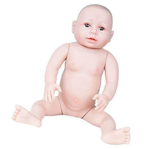 T TOOYFUL Giocattoli Vivi della Bambola Vivente della Ragazza Appena Nata della Bambola del Bambino del Silicone del Vinile Realistico di 66cm - A