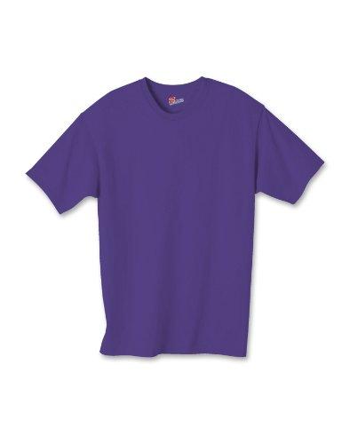 Hanes Jungen T-Shirt Purpur - Hanes Kinder T-shirt