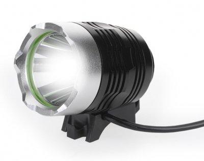 Bike Power LED High Power Mobil MTB Helm Power Leuchte incl. Halterung für Helm und Lenker