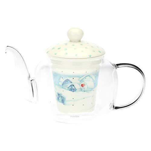 Thun ® - teiera in vetro preludio d'inverno