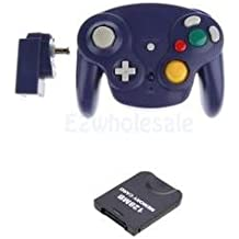 SLB Works Brand New Wireless Game Controller+Receiver + 128MB Memory Card For Nintendo Wii U GC