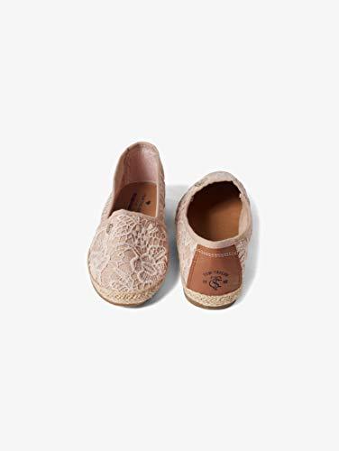 TOM TAILOR für Frauen Schuhe Slipper in Häkel-Optik Old Rose, 38