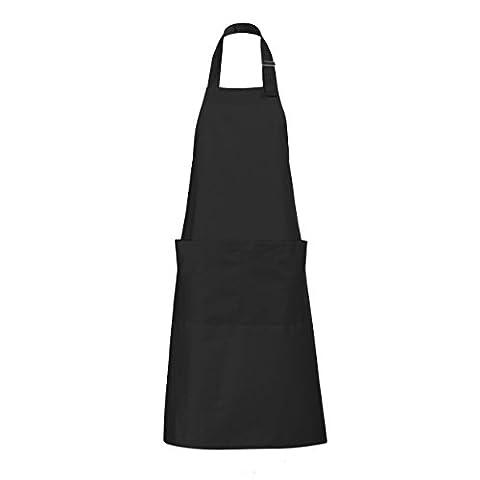 SOLS Unisex Gala Long Bib Apron / Barwear (ONE) (Dark Grey)