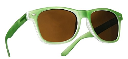 4sold Damen Herren Lesebrille Sonnenbrille +1.5 +2.0 +3.0 +4.0 Sun Readers Federn-Scharnier Perfekt für den Urlaub Retro Vintage Brille (Green, 1.50)