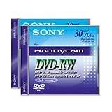 Sony DMW 30 DVD-RW für DVD-Camcorder 30 Minuten 5er-Pack mit Case