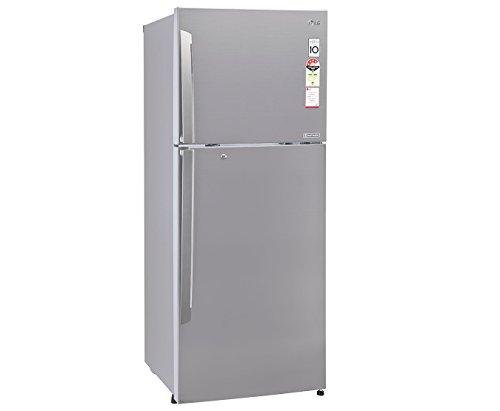 LG GL-I322RPZL Frost-free Double-door Refrigerator (308 Ltrs, 4 Star Rating, Shinny Steel)
