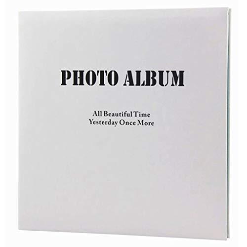 Fotoalbum mit klebrigen Seiten, minimalistisches Geschäftsalbum, PU-Cover, rosa/Blaue Innenseite, 20 Seiten (40 Seiten), DIY Creative Gifts Fotos Tourism Love 6 X 4.5 Film