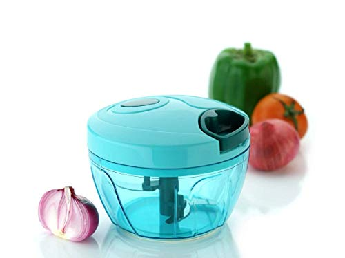 Moxie ABS Smart Chopper Vegetable Cutter and Food Processor, (Green, mx88)