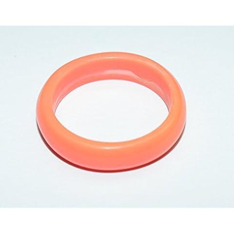 Corallo pietra anello 18mm 6,80kt