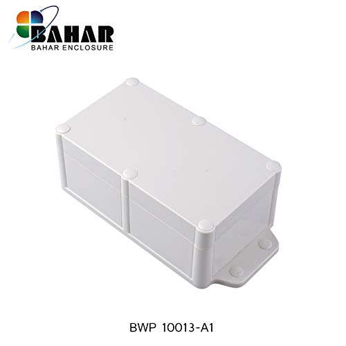 Bahar Enclosure 200*94*66 mm Anschlussdose Weiß Wasserdichte Gehäuse Junction Box White IP68 Waterproof Enclosure Kunststoffgehäuse Plastikgehäuse Project Box BWP 10013-A1 -