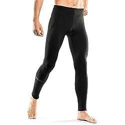 INBIKE Leggings Mallas Compresión Termicas Largas Deporte Para Hombre, Medias Pantalon Compresión Para gym Correr Running Fitness Entrenamiento Ciclismo Baloncesto(Negro,XXXL