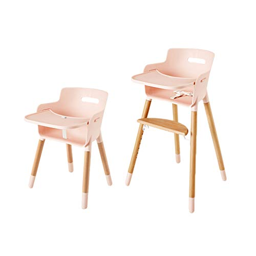 en Bois Ergonomique Chaise de bébé Chaise Haute Chaise d'enfants Fonction de Levage Chaise de Salle à Manger Multifonction Chaises Hautes