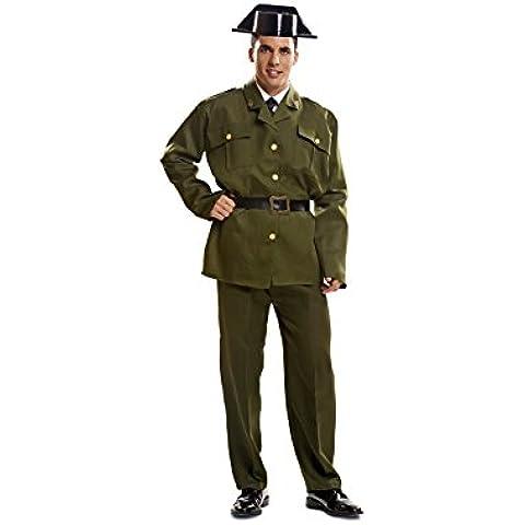 My Other Me - Disfraz de Guardia civil para adultos, talla XXL (Viving Costumes MOM00982)