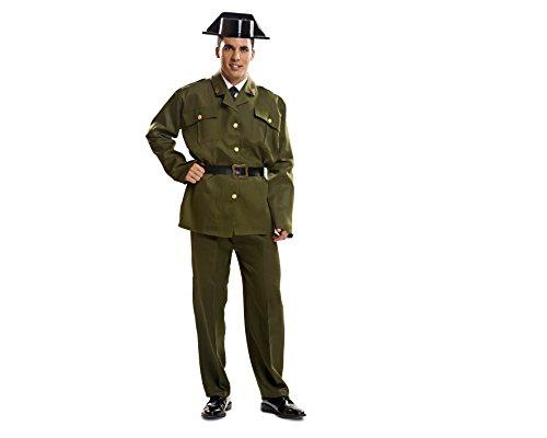 Imagen de my other me  disfraz de guardia civil para adultos, talla xxl viving costumes mom00982
