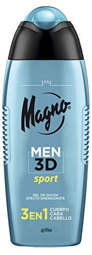 Magno Men 3D - Gel Sport 3en1- Cuerpo
