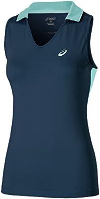 Polo Padel Mujer Asics sleeveless