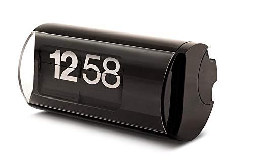 Orologio da tavolo a palette alimentato a batteria - Solari Udine Cifra 3 Colore Nero - Nuovo scatola e garanzia ufficiale - Prodotto di altissima qualità made in italy