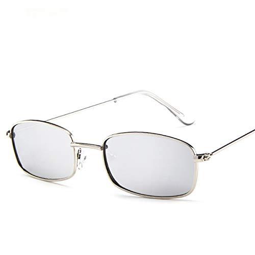 FGRYGF-eyewear Sport-Sonnenbrillen, Vintage Sonnenbrillen, NEW Small Rectangle Sunglasses Women Retro Red Sun Glasses Men Glasses Female Unisex C6