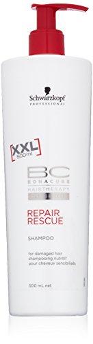 Schwarzkopf Shampoo, Bc Repair Rescue, 500 ml