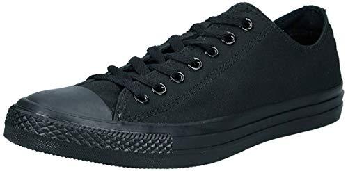 Converse Chuck Taylor All Star, Unisex - Erwachsene Sneaker, Schwarz (Black Mono), Gr.43 EU -