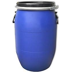 PE Spannring Deckelfass 60 Liter mit UN-X/S Gefahrgutzulassung