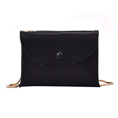 Mitlfuny handbemalte Ledertasche, Schultertasche, Geschenk, Handgefertigte Tasche,Fashion Button Small Square Bag Woman 2019 Neue Umhängetasche Messenger Bag