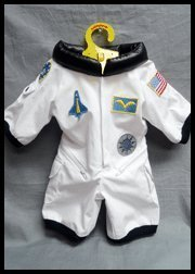 Eigenen Sie Ihren Kostüm Bauen - BEARegards Teddybär Space Shuttle White Astronaut Space Flight Suit Fit 14